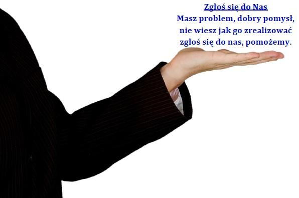 Dłoń wizytówka 2 - Poznaj Nas
