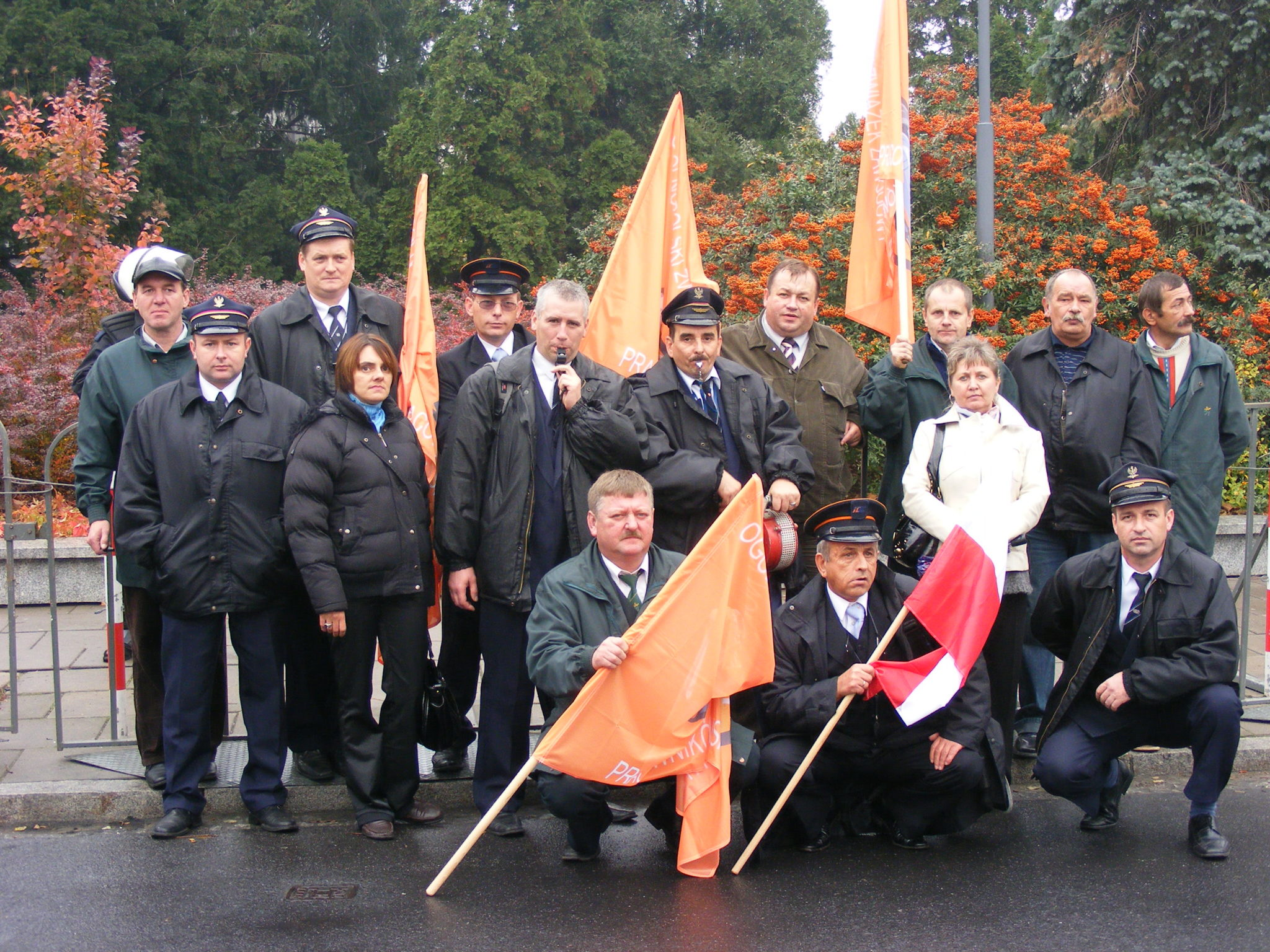 Pikieta listopad 2007