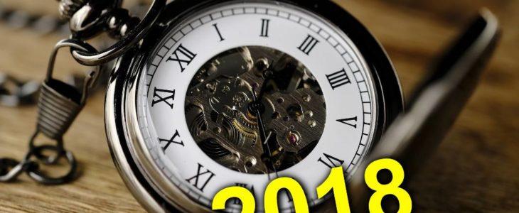 zmiana czasu 2018