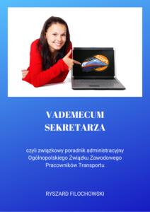 Okładka poradnika vademecum sekretarza